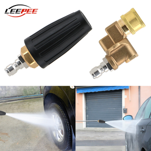 Image 1 - LEEPEE Car Accessories High Pressure Washer Replacement Turbo Nozzles Sprayer Rotary Pivoting Coupler Jet Auto Garden Clean