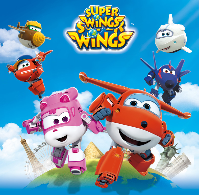 Super Wings Transforming 5 inch Airplane Robots 1