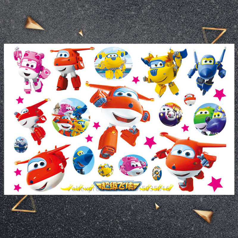 Hasbro kleine vliegtuig kind sticker Kinderen Cartoon Tijdelijke Tattoo Sticker Voor Jongens Cartoon Speelgoed Waterdicht Party Kids Gift