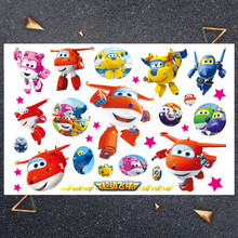 Hasbro kleine vliegtuig kind sticker Kinderen Cartoon Tijdelijke Tattoo Sticker Voor Jongens Cartoon Speelgoed Waterdicht Party Kids Gift()