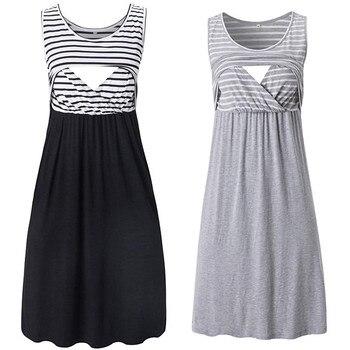 Summer Maternity Dress for Women Pregnancy 1