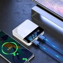 20000mAh Mini Power bank Dual USB Extranel Battery Mobile Ph