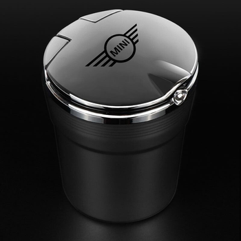 For MINI coopers r56 r53 r50 car ashtray car with LED light car ashtray car ashtray trash box for mini cooper accessories