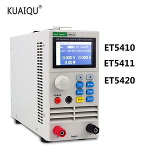 Image 1 - 3 Kind of 400W 150V 40A Professional Programmable Digital Control DC Electronic load Tester Single Channel Battery Tester Load