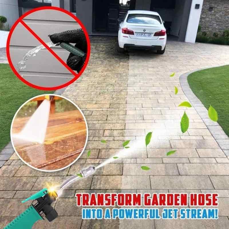 30/38/48/58Cm Mobil Tekanan Tinggi Mesin Cuci Air Gun Jet Selang Taman Tongkat Nozzle Sprayer penyiraman Semprot Sprinkler Alat Pembersih