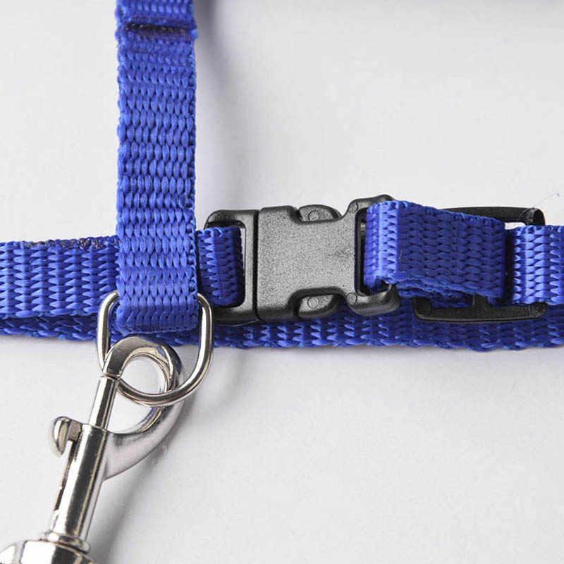 1pcs Gatto Collare di Cane Harness Guinzaglio Regolabile Nylon di Trazione Animale Domestico del Gatto del Gattino Gatti Prodotti Per Animali Da Compagnia del Cablaggio Della Cinghia