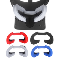 For Oculus Rift S Soft Silicone Eye Mask Cover Pad VR Headset Breathable Light Blocking Eye Cover Pad Spare Parts