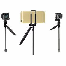 ONLENY 2 Ways Portable Camera Handheld Stabilizer For GoPro Smartphone Stand For iPhone Go Pro Hero Accessories 5 4 3+ 3 2 1(China)