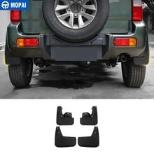 MOPAI guardabarros ABS para Suzuki Jimny, protectores de barro para Exterior, decoración de salpicaduras, guardabarros, accesorios para coche
