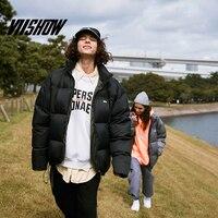 VIISHOW2019 new winter down jacket men tide brand men's thin short jacket lovers explosion models