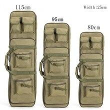 New 120cm Rifle Gun Case Tactical Gun Bag Soft Padded Carbine Case Fishing Rod Bag Backpack Pistol Shotgun Airsoft Case Storage