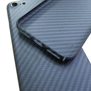Image 4 - Cf炭素繊維電話ケース用se 2020 4.7 iPhone7 iPhone8薄型軽量属性アラミド繊維材料