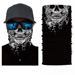 Бесшовная Балаклава с изображением клоуна, аниме, черепа, волшебный шарф на Хэллоуин, головные уборы, спортивные банданы, мужской шарф для велоспорта, походов, шарф на шею, гетры|Шарфы|   | АлиЭкспресс