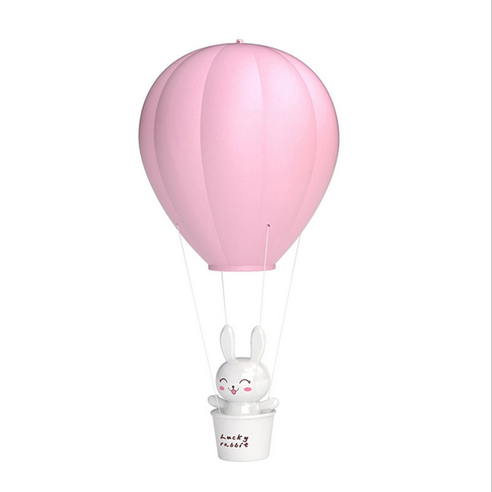 Energy Saving LED Lamp Novelty Hot Air Balloon LED Cute Baby Kids Night Light Lamp 3 Mode Dimmable PVC
