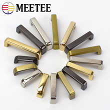 10/30pcs 20/26/31/38mm Metal Bag Buckles Fashion Arch Bridge Hanging Hooks Screw Connector for Bags Strap DIY Leather Crafts