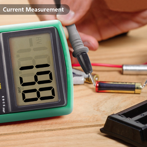 Image 4 - Handskitマルチメータac dcデジタルマルチメータプロフェッショナルテスターメーター電圧計、lcdディスプレイ2000カウントメーターテスター