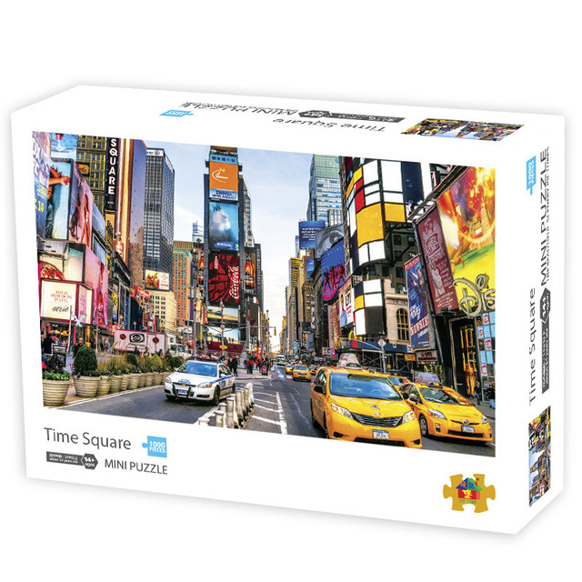 puzzle 1000 pieces jigsaw puzzle 42*30 cm Assembling picture Landscape puzzles toys for adults games educational Montessori Toys