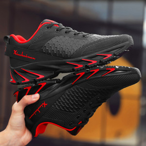 Image 2 - New Spring Autumn casual shoes men Big size39 44 sneaker trendy comfortable mesh fashion lace up Adult men shoes zapatos hombre