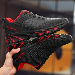 Image 2 - Nieuwe Lente Herfst Casual Schoenen Mannen Grote Size39 44 Sneaker Trendy Comfortabele Mesh Mode Lace Up Volwassen Mannen Schoenen Zapatos hombre