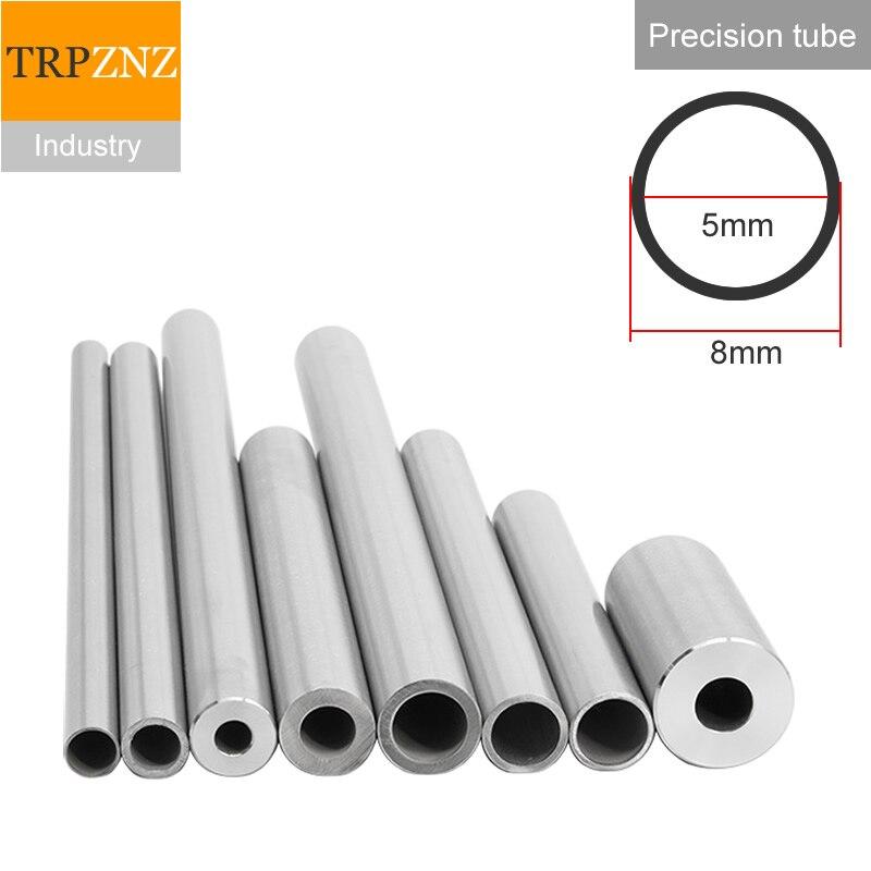 Tubulação de aço inoxidável da precisão do tubo 304, od 8x1.5mm, diâmetro exterior 8mm, espessura da parede 1.5mm, diâmetro interno 5mm