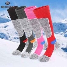 Socks Hiking Outdoor Sports Long Winter Woman Skiing Men Comfortable Thicken High-Elasticity