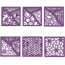 Popular Square Round Irregular Flower Dragonfly Butterfly  Pattern Best Seller Decorative Frames Metal Cutting Dies Scrapbooking Album Paper DIY Cards Crafts Embossing New 2019