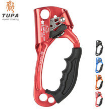Outdoor Aluminum Sports Rock Climbing Right/Left Hand Grasp Ascender Device Riser For 8-13mm Rope недорого