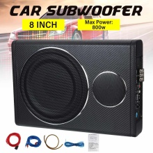 Car Subwoofer Amplifier Speaker Car-Audio Auto-Sound Under-Seat 12V 800W 8-Vehicle