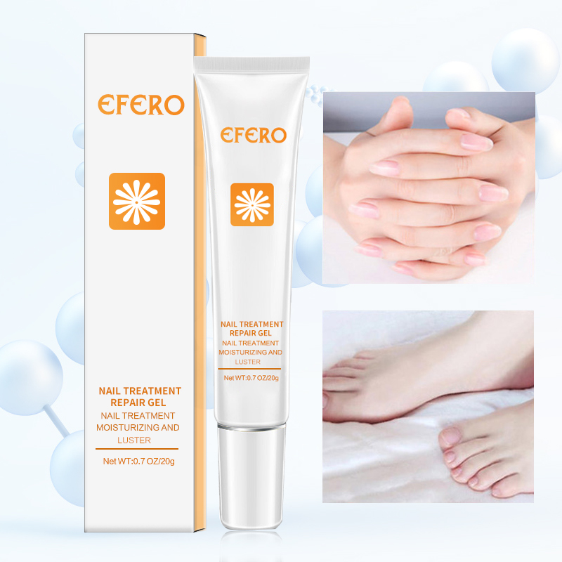 EFERO Foot Fungal Nail Treatment Skin Care Cream Nail Fungus Treatment Cuticle Remover Nails Onychomycosis Repair Manicure Tools