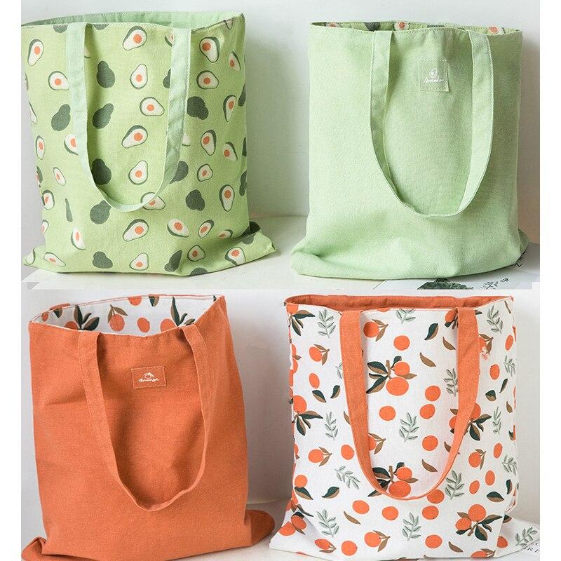 Покупатель хлопка ткань двусторонняя ручная сумка хлопок и лен карманная сумка хозяйственная сумка для хранения продуктовый мешок