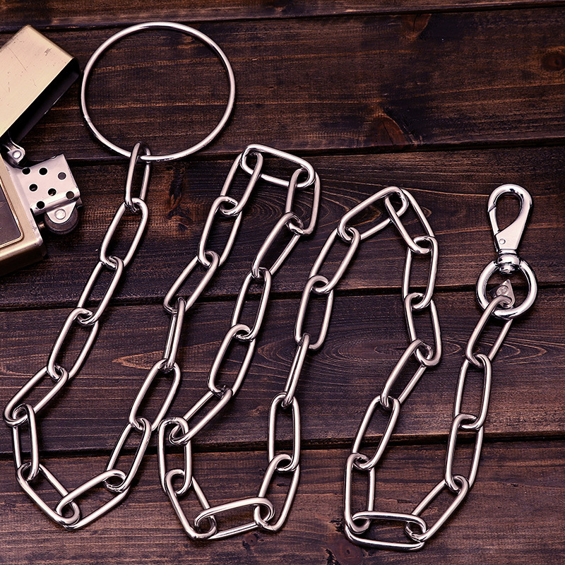 Pet Necklace Medium Large Dog For Dog Pendant Party Mesh Necklace P Pendant Anti-Bite Lengthen Stainless Steel Dog Pendant