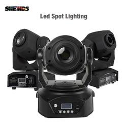 2 uds LED Spot 90W con Prisma de 6 caras 30W/60W Spot Light DMX512 efecto escenario DJ Fiesta Disco pista de baile controlador de sonido música