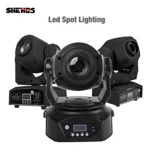 Image 1 - Projecteur de lumière de scène 2 pièces LED Spot 90W avec prisme à 6 faces 60W, effet DMX512 pour effet Disco DJ