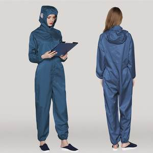Jumpsuit Isolation-Suit Protective-Clothes Workwear Anti-Static Waterproof A60