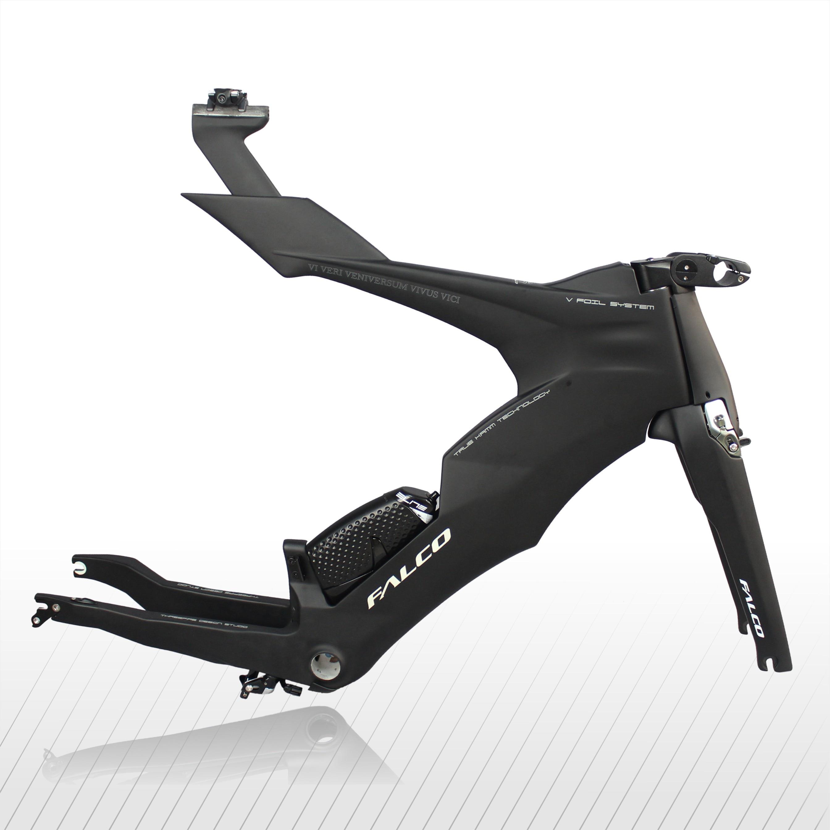 FALCO V-Bike TT Carbon Frame Triathlon Bikes Carbon Trial Time Frameset New TRP Brakes And New Fork