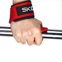 1 Pair Men Weight Lifting Hand Belt Anti-slip Sport Fitness Wrist Wraps Strap Gym Support Grip Bodybuilding