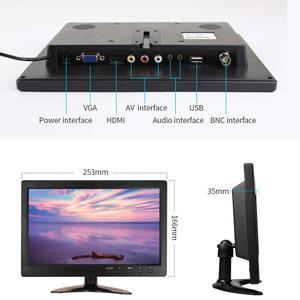 Image 5 - 10.1 Polegada HDMI IPS Tela de Toque Capacitivo 1280x800 Monitor de LED para PS3 4 Janelas 7 8 10 VGA/AV USB Do Computador PC LEVOU Exibição Carro