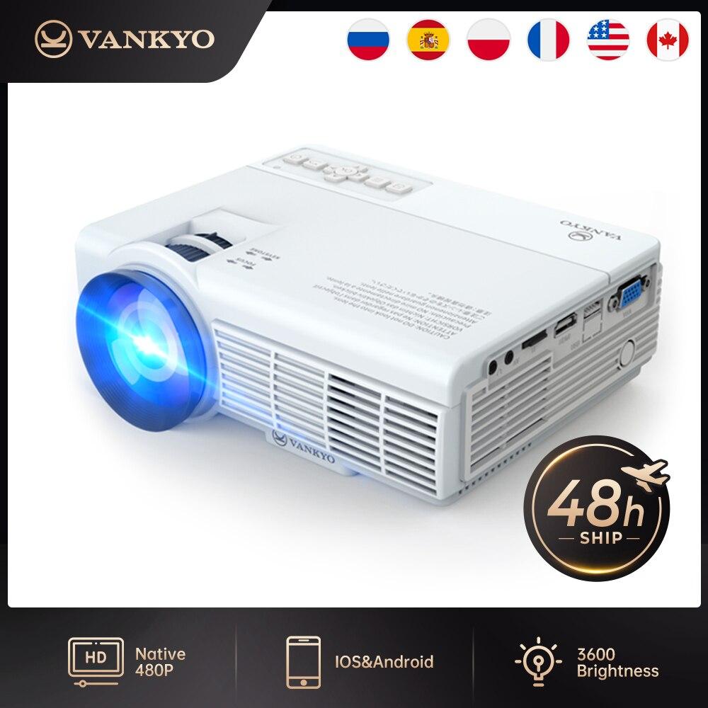 Dropshipping vankyo lazer c3mq/c3wq 1080p suportado mini projetor com sincronizar tela do smartphone portátil wi fi projetor-0