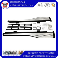 High quality  ABS aluminium alloy pedal side step running board for CRV 2012 2013 2014 2015 2016