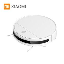 Xiaomi Mijia Mi Smart Fegt Wischen Roboter G1 Staubsauger für startseite cordless Waschen 2200PA Waschen zyklon Saug WIFI