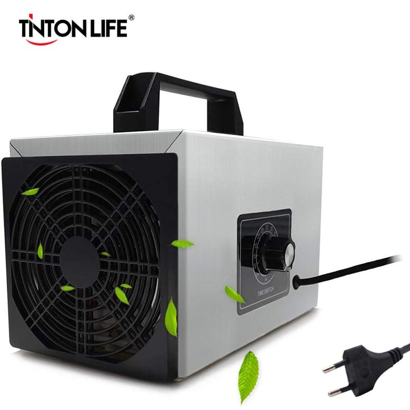 220v 20g/h Ozone Generator Air Purifier Ozonizador Machine O3 Ozono Ozon Generator Deodorant Disinfection With Timing
