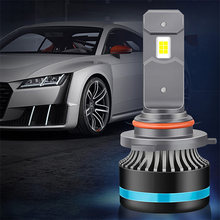 2x Auto Car LED Headlight Lamp H1 H11 9005 Hb3 9006 Hb4 H7 H4 For Hyundai I30 Solaris Tucson Ix35 Creta Getz Elantra Santa Fe