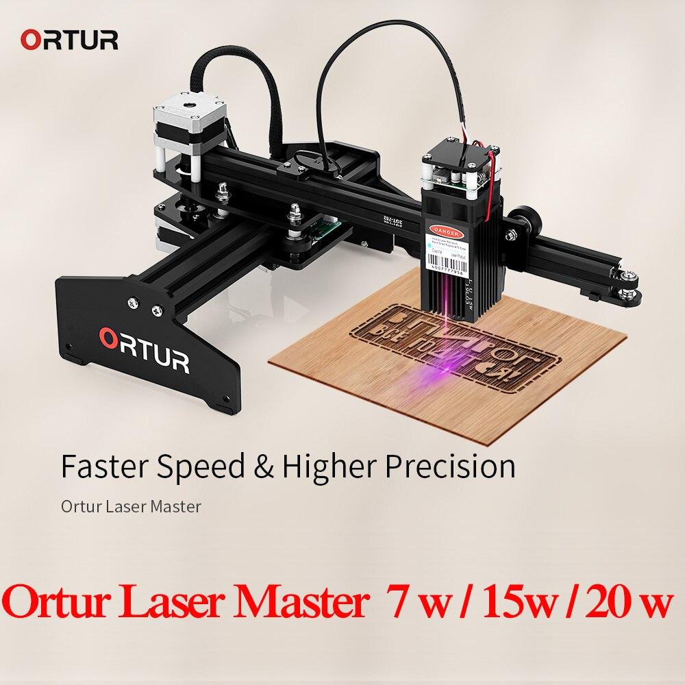 Ortur Laser Master 7W Personal Laser Engraving Machine DIY Laser Engraver Metal Cutting Machine 3D Printer Support Windows IOS