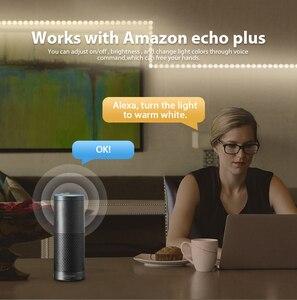 Image 5 - Zigbee Fernbedienung RGB WW/CW Led Controller DC12/24V LED Streifen Controller Smart Voice Control Arbeit mit Amazon Echo Plus Tuya