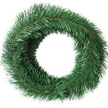 1pc 5.5m Christmas Wreaths Green Decorative Garland Home Decor Thanksgiving Diy Wreath Material 100g