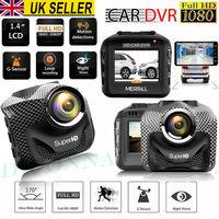 1080P HD Dual Lens 170° Dash Cam GPS Wifi Car DVR Video Recorder Camera G Sensor Send in Random Color