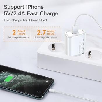 Зарядное устройство KUULAA Quick Charge 3,0 QC, 18 Вт 5