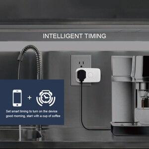 Image 2 - Broadlink SP3S EU Neueste SP4L Wifi buchse Timer Stecker Outlet Smart Home Automation APP Steuer arbeit mit Alexa Google Hause siri