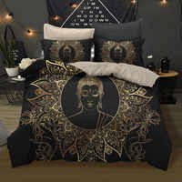 Buddha Bedding Set Queen King 12 Sizes Bedclothes For Home 3D Printed Duvet Cover Set With Pillowcase 2/3Pcs Luxury Home Textile