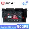 Isudar H53 4G Android 1 Din Auto Radio For MAZDA 2003-2009 Car Multimedia GPS Octa Core RAM 4GB ROM 64GB Camera USB DVR IPS DSP